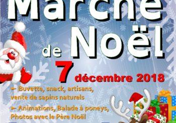 Marché de Noël 7 décembre 2018.