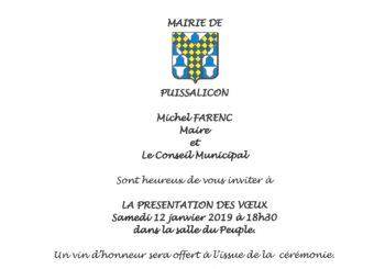 Discours Vœux du Maire du samedi 12 janvier 2019