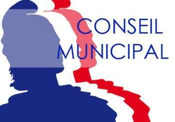 Convocation Conseil Municipal séance du 23/11/2020