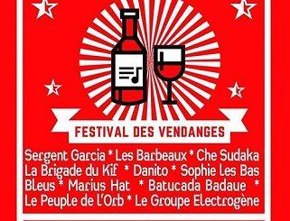 5ème édition du Festival des Vendanges