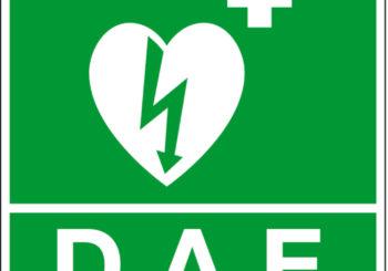Formation défibrillateur – jeudi 27 février – 18h – salle du peuple