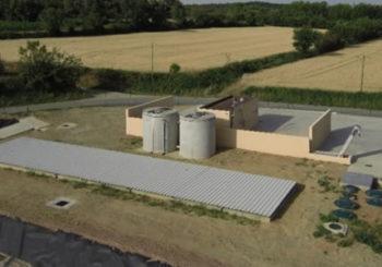 Création d'une aire mixte de remplissage et de rinçage des pulvérisateurs et de lavage des machines à vendanger