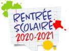 Inscription pour la rentrée scolaire 2020-2021