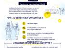 NAVETTES GRATUITES POUR LES PERSONNES DE 75 ANS ET+