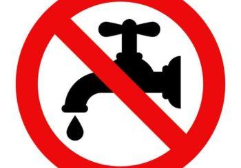 Coupure d'eau générale mardi 13 juillet de 8h à 12h