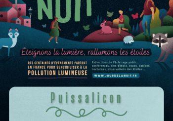Le Jour de la Nuit – Samedi 9 Octobre – Extinction totale de l'éclairage public de 0h à 6h